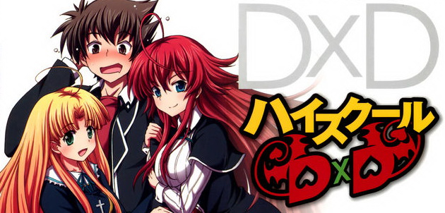 High School DxD main characters